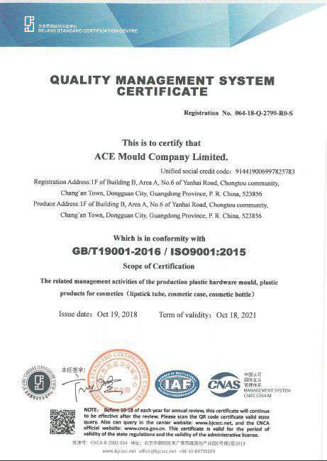 QMS Ace Mould Company Ltd