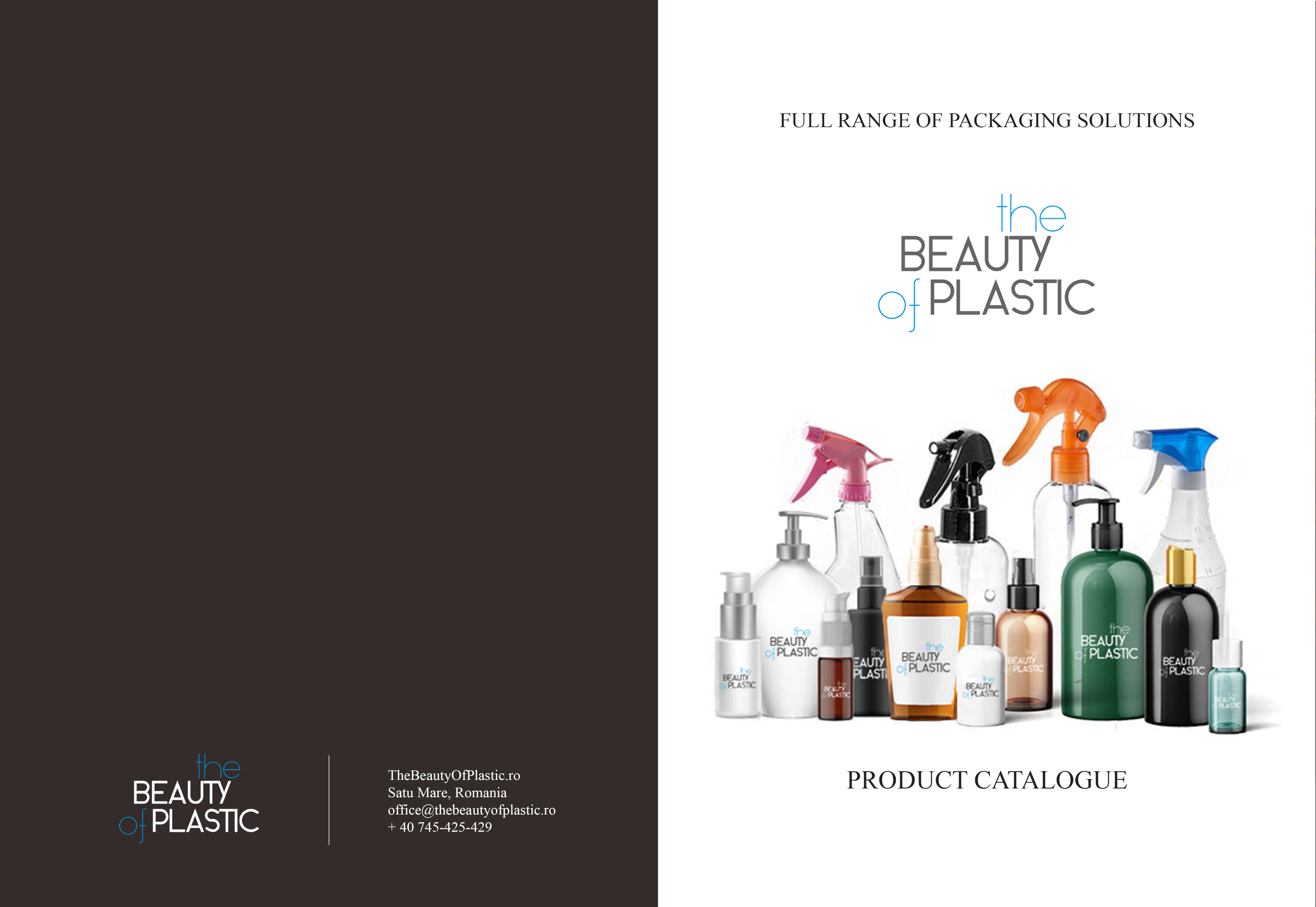 The Beauty of Plastic Catalogue cover